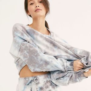 Free People - Kelly Washed Tie Dye Lounge Set